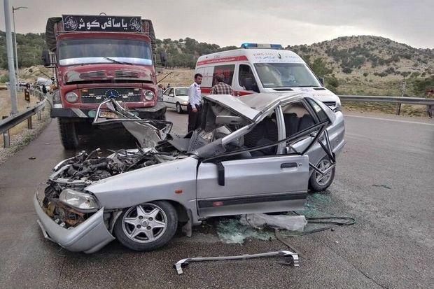 یک کشته و پنج مصدوم بر اثر سانحه رانندگی در خلخال