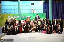 بازدید دانش آموزان موسسه فرهنگی شهید اسکندری از جماران