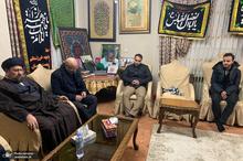 حضور سید حسن خمینی در منزل شهید حاج قاسم سلیمانی