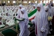 جشن عبادت دانش آموزان فاطمی در کرج برگزار شد