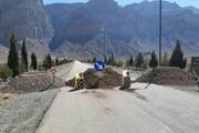 مسیر ۲ منطقه ییلاقی تفت مسدود شد