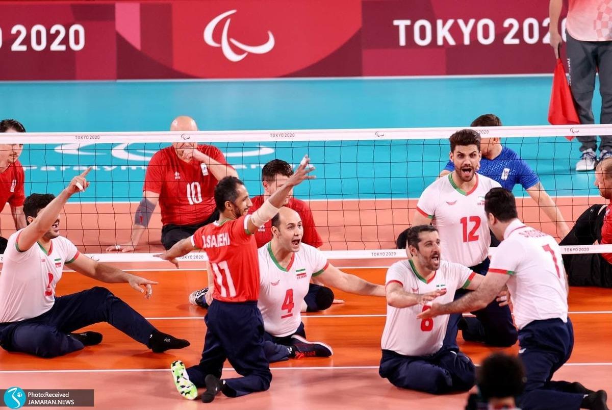 هفتمین طلای والیبال ایران؛ شاگردان رضایی نشسته بر بام پارالمپیک ایستادند! + عکس