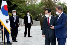 استقبال جهانگیری از نخست وزیر کره جنوبی