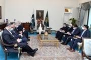 دیدار و گفت و گوی ظریف با نخست وزیر پاکستان