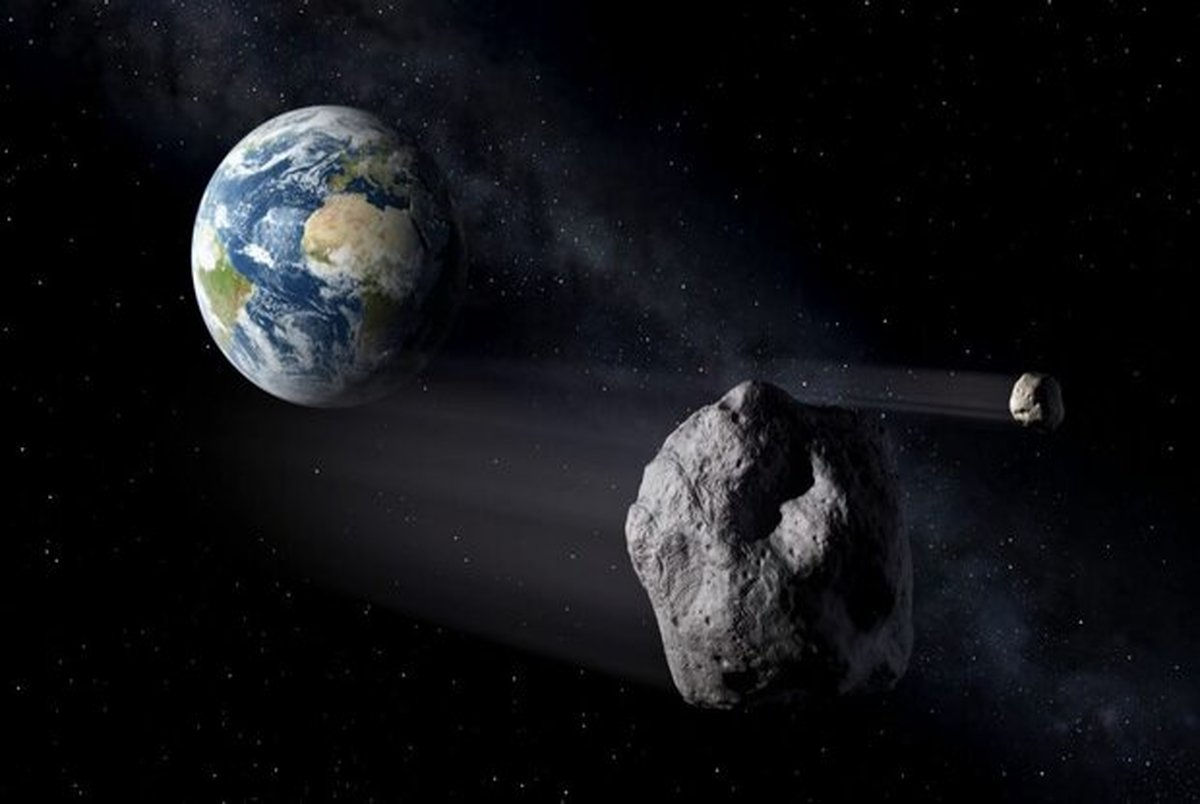 سیارکی با قطر ۲۲۰ متر از کنار زمین می گذرد