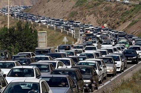 تردد در جاده چالوس و هراز فردا یک طرفه است