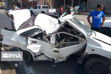 تصادف کامیون با پراید در گلستان ۲ کشته داشت