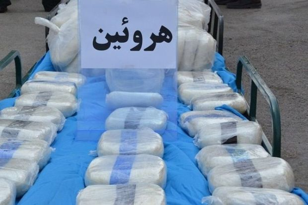 کشف  ۱۲۹ کیلو هروئین توسط پلیس البرز و تهران