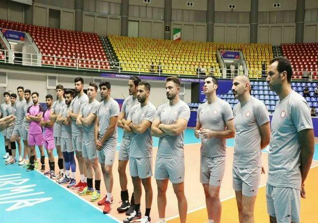 نخستین جلسه تمرینی تیم والیبال شهرداری ارومیه برگزار شد