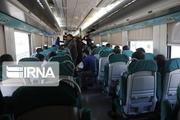 استقبال مردم و کمبود قطار محلی در مازندران