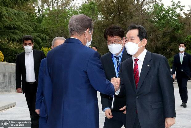 ملاقات نخست وزیر کره جنوبی با روحانی تکذیب شد/ چانگ با کدام مقامات دیدار می کند؟