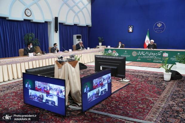 بهره برداری از 135 طرح میراث فرهنگی و 183 طرح وزارت آموزش و پرورش با دستور رییس جمهور