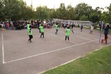 رقابت های والیبال دختران در قزوین آغاز شد