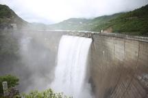 باران بهاری بزرگ ترین سد مازندران را سرریز کرد