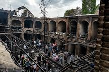 بیمه ها 67.5 میلیاردریال به حادثه بازار تبریز غرامت پرداختند