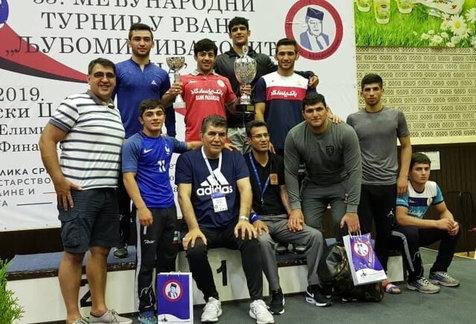 قهرمانی مقتدرانه ایران در کشتی فرنگی جوانان آسیا