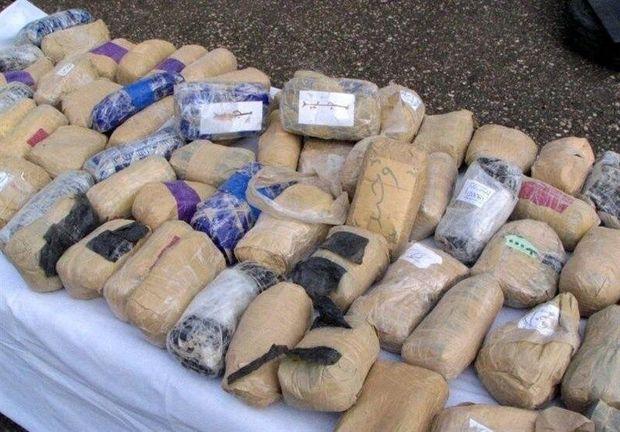 کشف بیش از۷ تن مواد مخدر در سیستان و بلوچستان