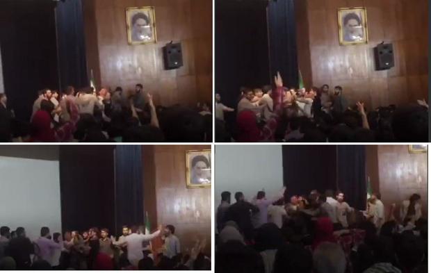 واکنش ها به حوادث روز گذشته دانشگاه تهران