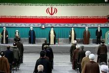مراسم تنفیذ سیزدهمین دوره ریاستجمهوری اسلامی/ رهبر انقلاب: مردم با حضور در انتخابات پاسخ قاطعی به توطئه دشمنان دادند