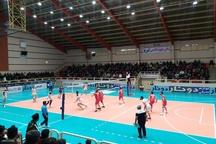 تیم والیبال شهرداری تبریز در برابر پیکان تهران شکست خورد