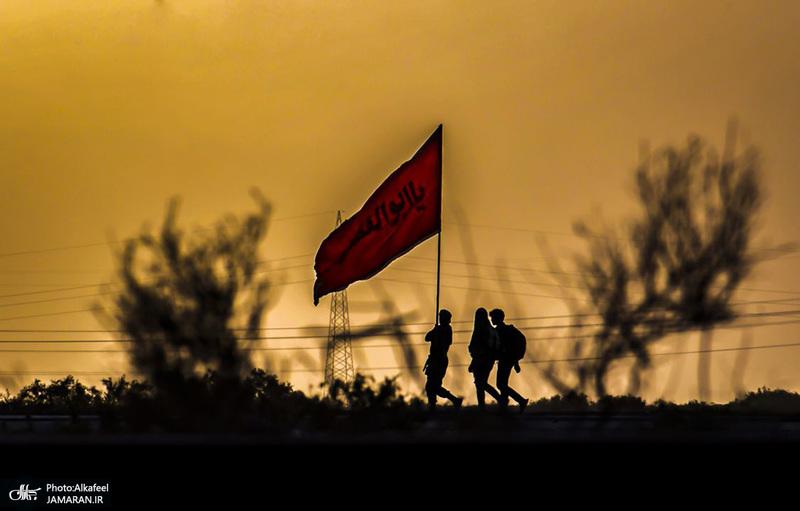 پیاده روی زائران اربعین-1