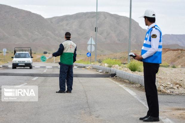 تردد در مبادی ورودی و خروجی استان اردبیل ۷۰درصد کاهش یافت