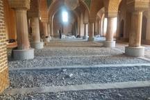 مرمت مسجد تاریخی کریم خان تبریز در مراحل پایانی قرار دارد