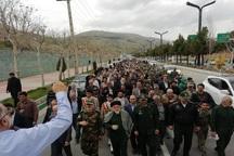 مردم لواسان تروریستی خواندن سپاه را محکوم کردند