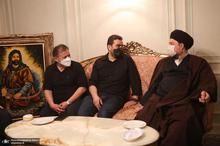 حضور سید حسن خمینی در منزل مرحوم حاج احمد تیموری