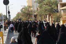 همایش پیادهروی خانوادگی در میبد برگزار شد