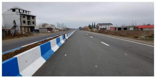 بهره برداری از دو پروژه راهسازی و یک دهنه پل در شهرستان رضوانشهر