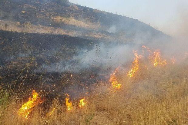 کارخانه قند آبکوه مشهد دچار آتش سوزی شد