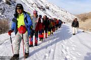اقامت شبانه کوهنوردان تکابی در ارتفاع ۳ هزار متری کوه بلقیس