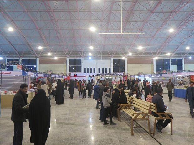 فروش ۴۵۰ میلیون تومان کتاب در سیزدهمین نمایشگاه خراسان جنوبی