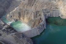 تراز آب سد کوثر 10 متر کاهش یافت
