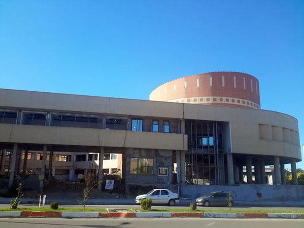 طلسم شکنی از بزرگترین تالار فرهنگی شمال کشور در مازندران
