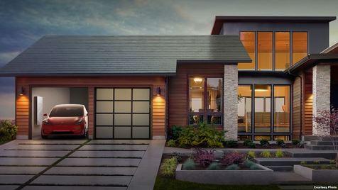 کاشیهای خورشیدی نامرئی برای بام منازل ساخته شد + عکس