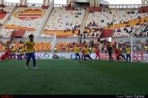 گزارش تصویری دیدار تیم های فوتبال فولاد خوزستان و صنعت نفت آبادان