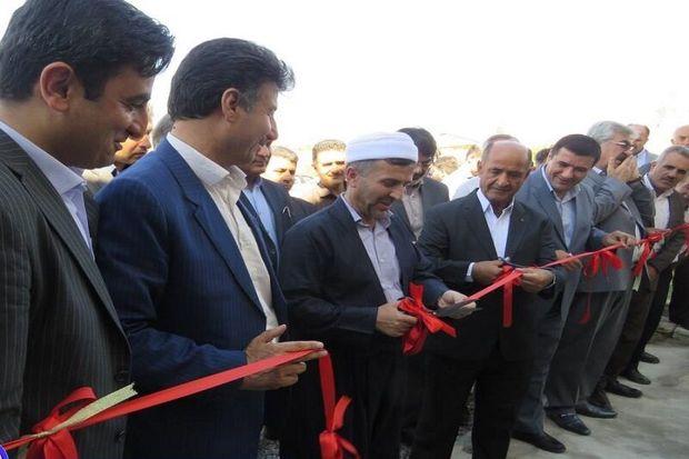 هفته دولت در مهاباد با افتتاح ۴ طرح آغاز شد