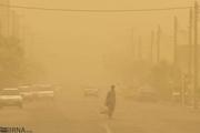 گرد و غبار در خرمشهر به سه برابر حدمجاز رسید