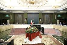 نخستین جلسه هیات دولت در سال 99