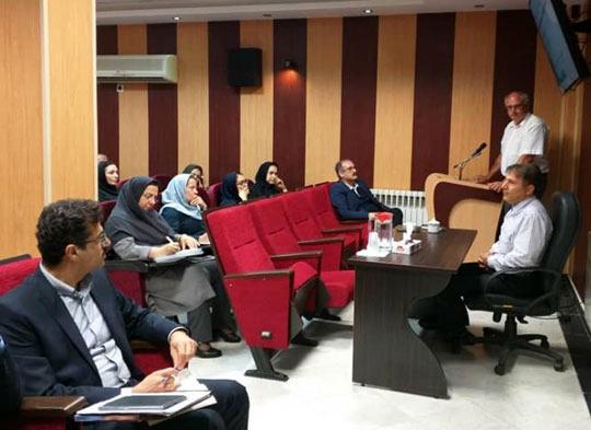 برگزاری سمینار آموزشی ارتقاء و بازسازی تصفیه خانههای فاضلاب در آبفای گیلان