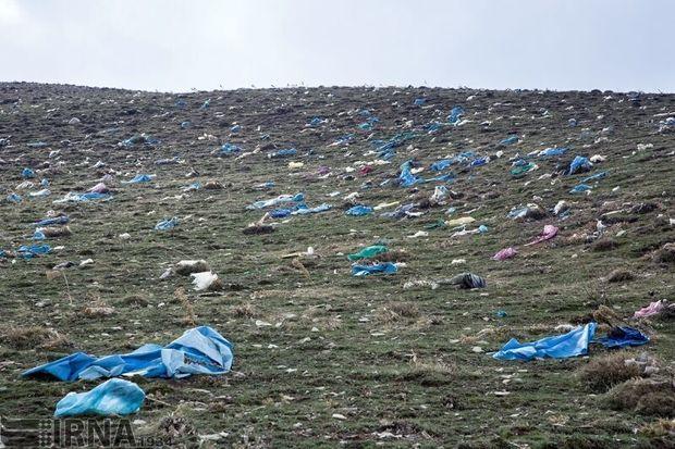 صیفیکاران نایلونهای پلاستیکی را جمعآوری کنند