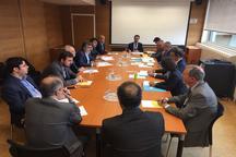 دیدار دکتر صالحی با رئیس کمیسیون انرژی اتمی فرانسه