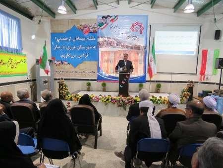 جشنواره خیرین مدرسه ساز شهرستان درمیان برگزار شد