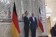 دیدار هایکو ماس، وزیر خارجه آلمان با ظریف
