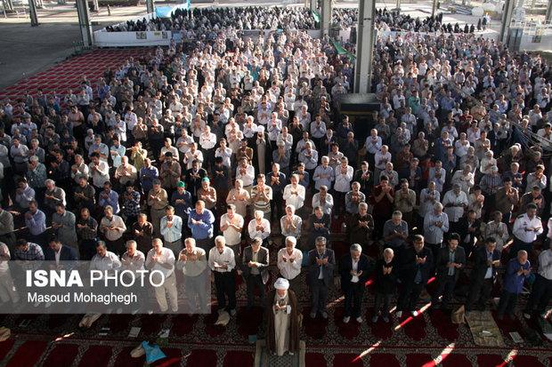 نماز عید قربان در استان مرکزی اقامه شد