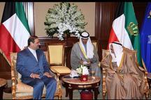 دیدار سفیر جدید ایران در کویت با امیر کویت
