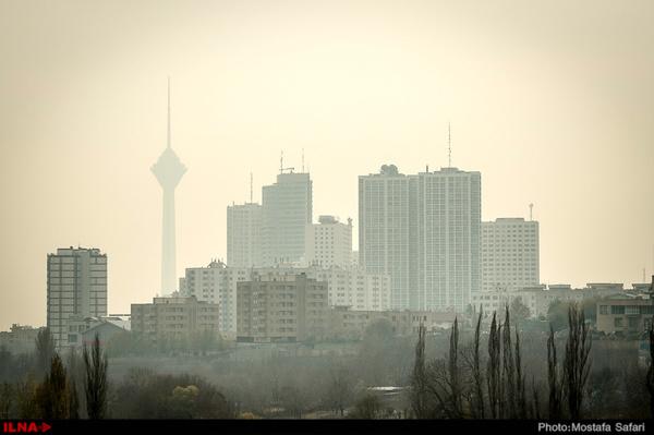 هوای تهران برای سومین روز متوالی ناسالم است  گرمای هوا و تولید ازن عامل آلایندگی هوا
