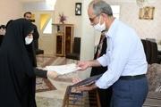 مدیرکل امور بانوان استانداری آذربایجانغربی از زوج پرستار ارومیهای قدردانی کرد